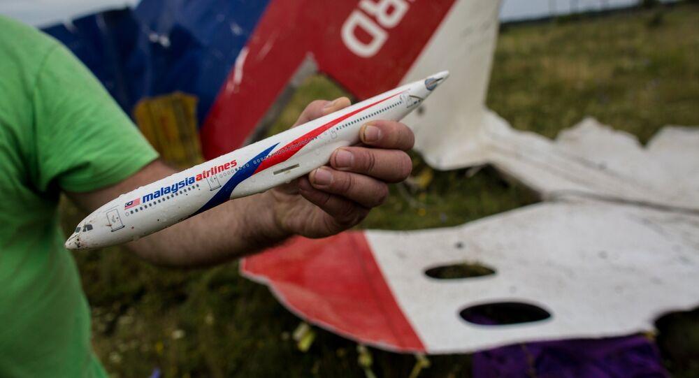 Le lieu du crash du vol MH17