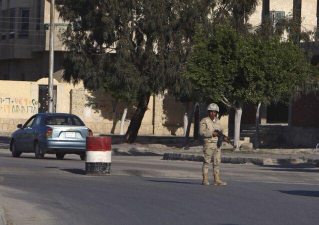 Un soldat égyptien (image d'illustration)