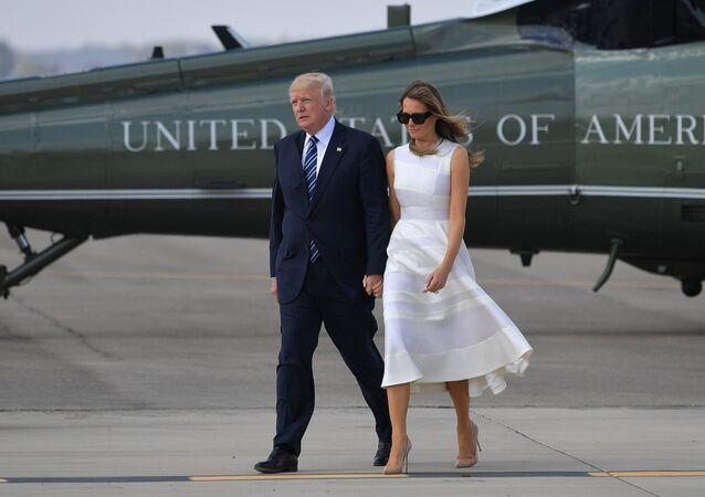 Donald Trump et sa femme