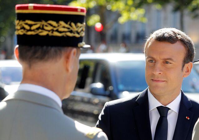 Emmanuel Macron et le général Pierre de Villiers