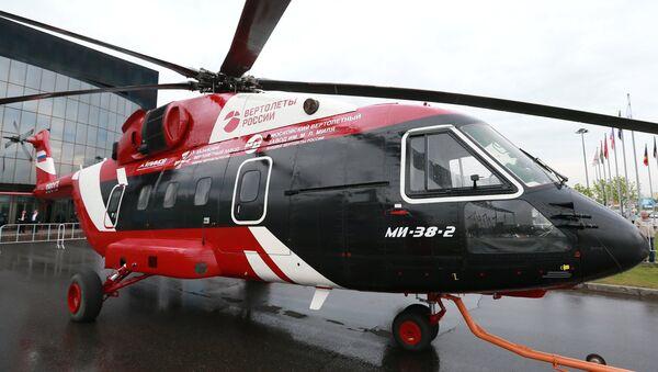 Hélicoptère Mi-38 - Sputnik France
