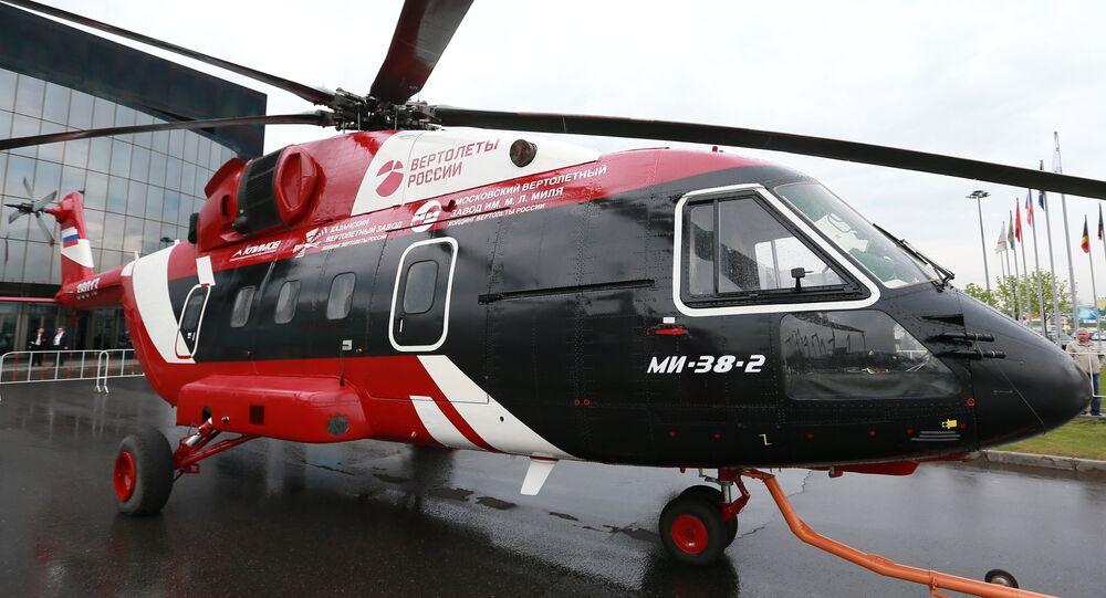 Hélicoptère Mi-38
