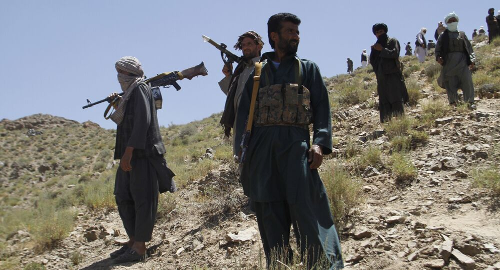 Taliban fighters. (File)