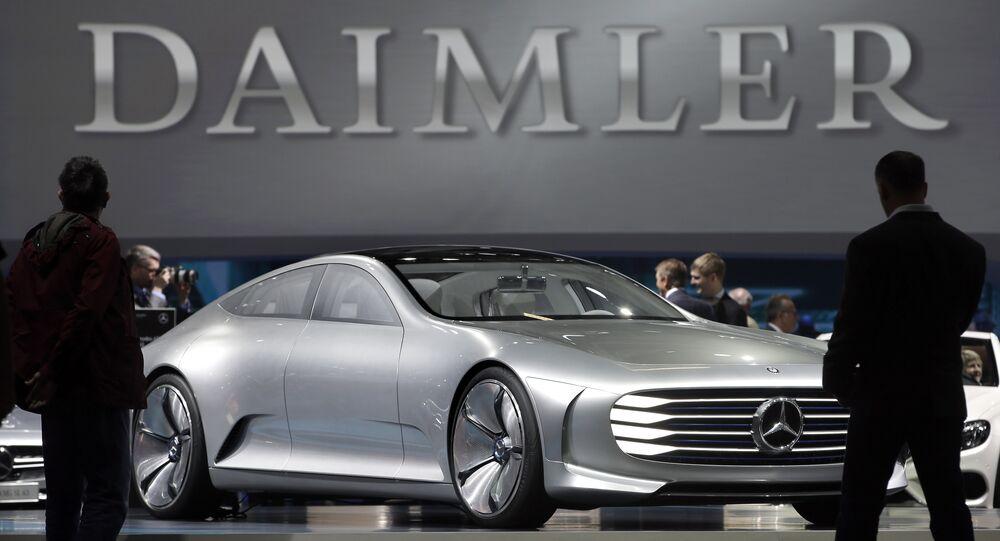 Daimler logo. (File)