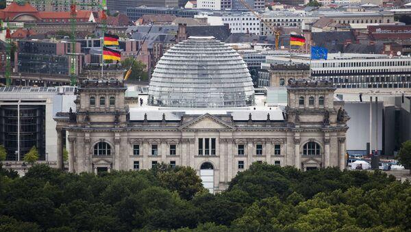 The Reichstag building, house of German parliament Bundestag in Berlin - Sputnik France