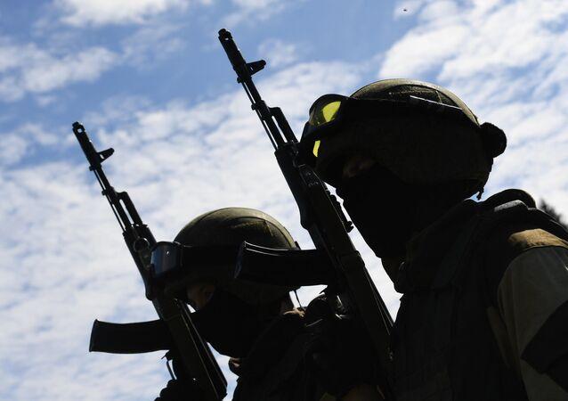 La Garde nationale russe débarque en Chine