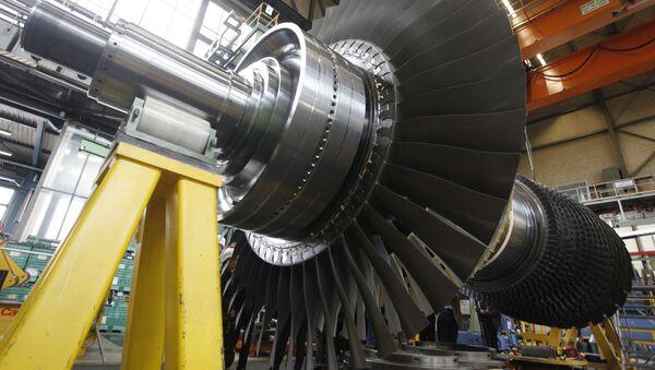 Wirnik turbiny gazowej Siemensa - Sputnik France