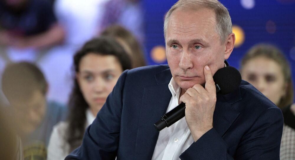 Le 21 juillet, lors d'une rencontre avec des étudiants du centre d'éducation Sirius à Sotchi, le président russe Vladimir Poutine a révélé le pseudonyme dont il se servait quand il travaillait pour le renseignement russe