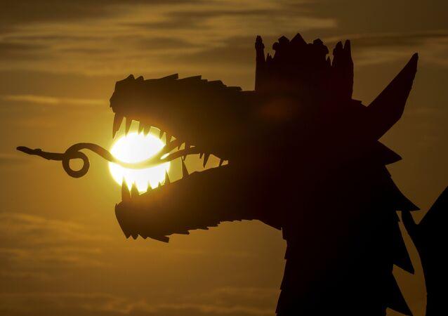 Un dragon (image de démonstration)