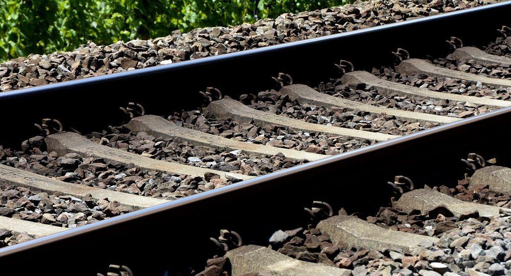 Un chemin de fer