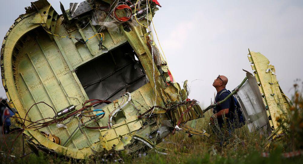 Lieu du crash du vol MH17