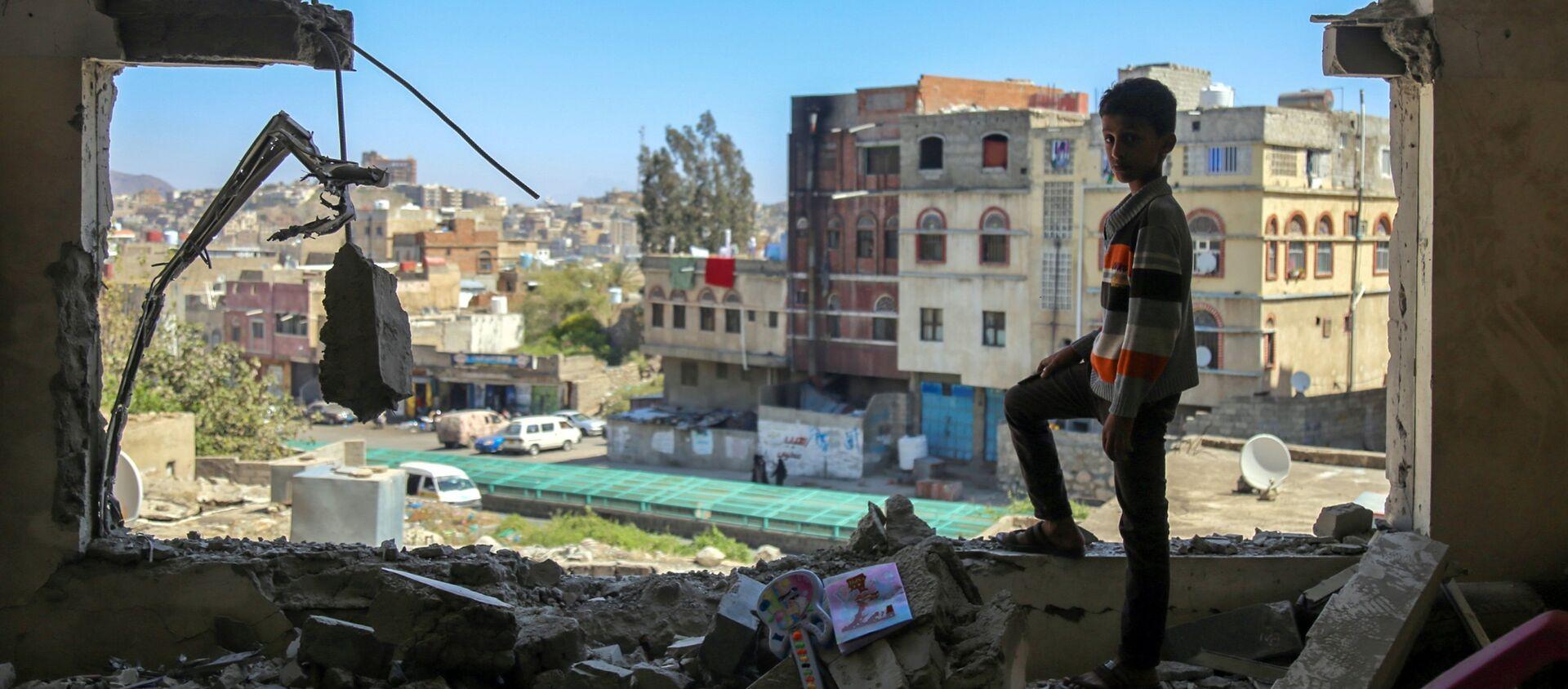 Situation au Yémen, image d'illustration  - Sputnik France, 1920, 02.02.2021