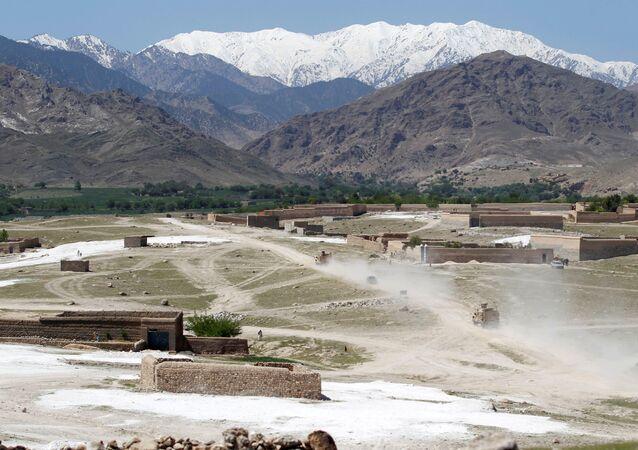 La province de Nangarhâr, Afganistan
