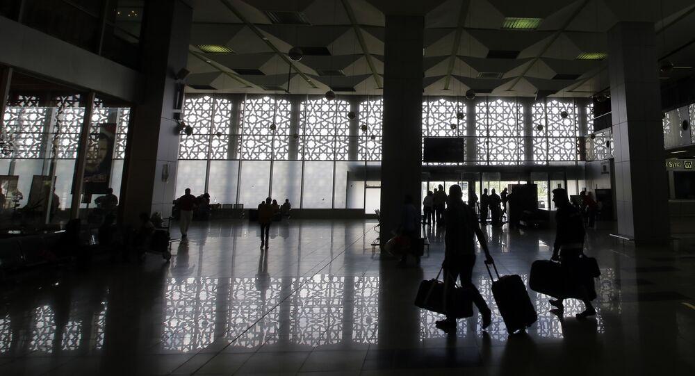 l'aéroport international de Damas