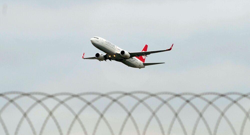 Un avion de Turkish Airlines