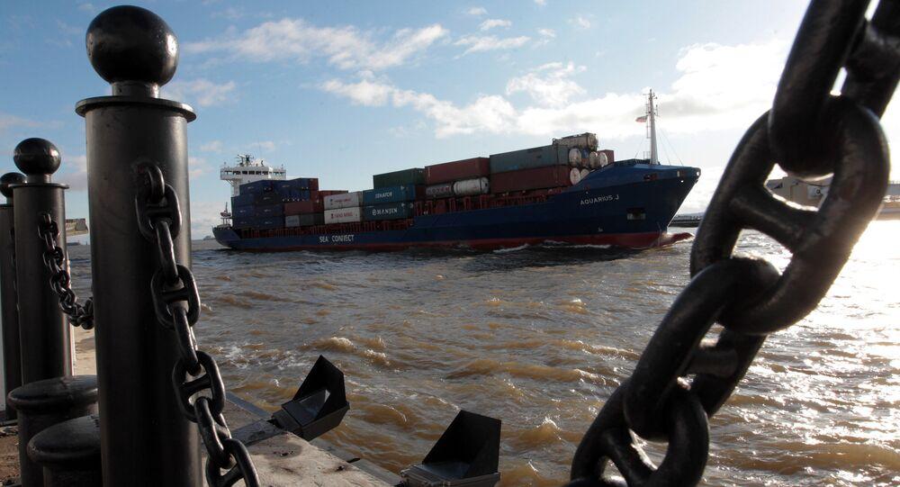 Cargo polyvalent, image d`illustration