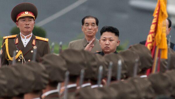 Kim Jong-un, dirigeant nord-coréen - Sputnik France