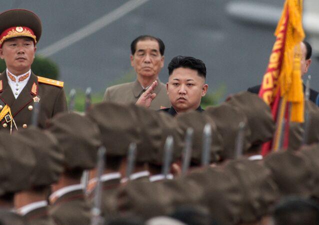 Kim Jong-un, dirigeant nord-coréen