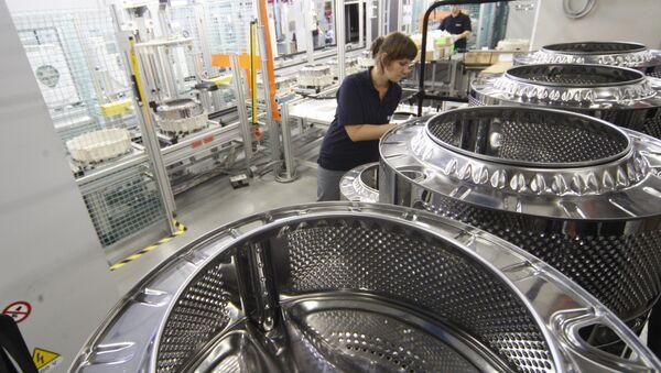 Siemens-Fabrik in Russland - Sputnik France