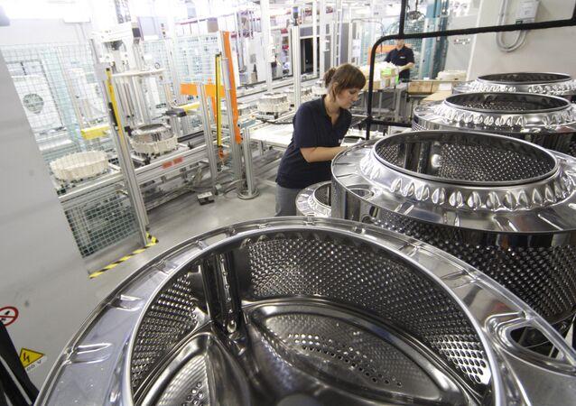 Usine de Siemens en Russie