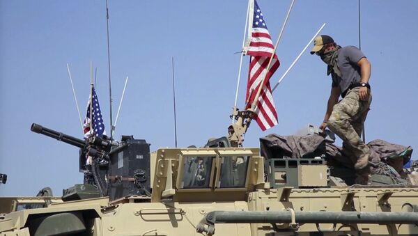 Des militaires américains en Syrie - Sputnik France