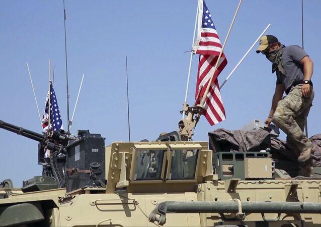 Soldat américain en Syrie