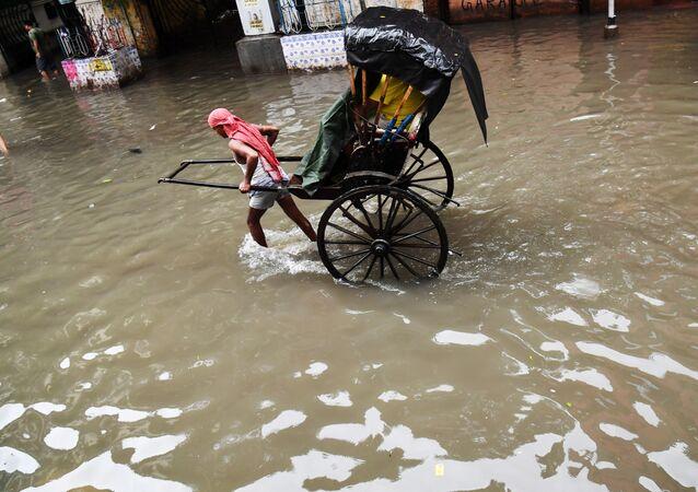 Inondations en Inde