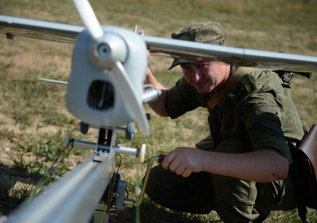 Un drone russe. image d'illustration