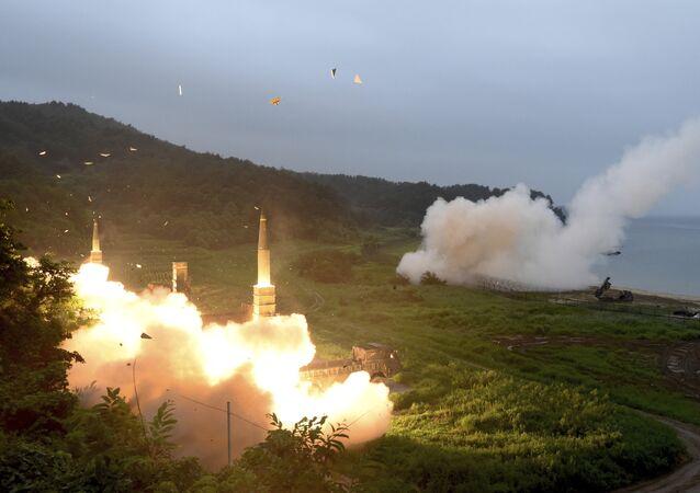 Tirs de missiles sud-coréens