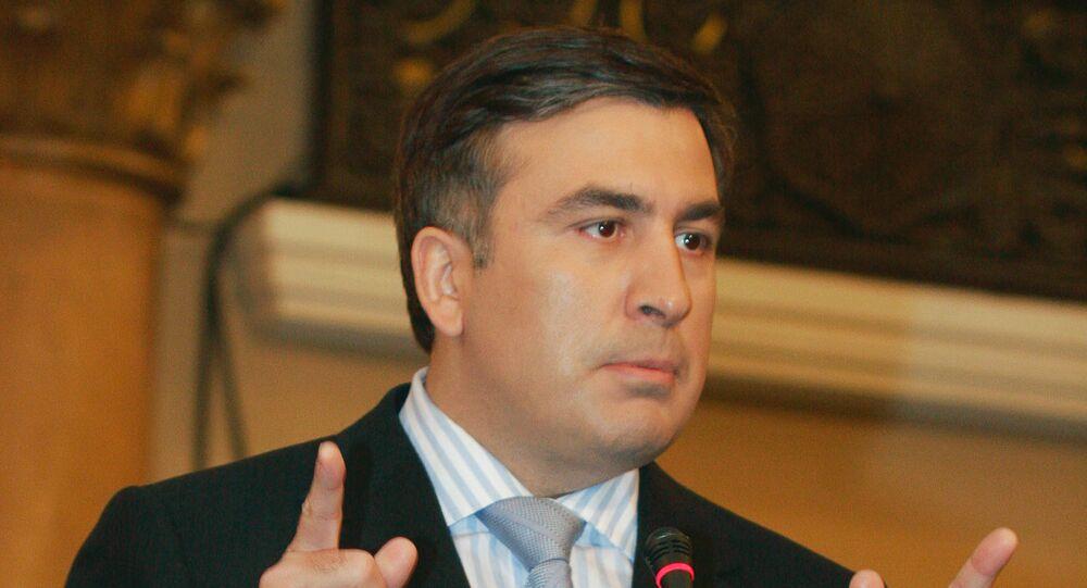 «Trump a raison»: Saakachvili fustige les «sales jeux» des oligarques ukrainiens