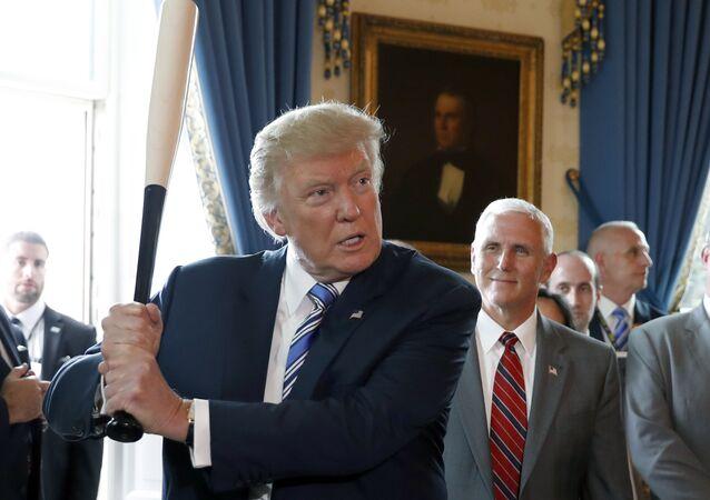 Président américain Donald Trump