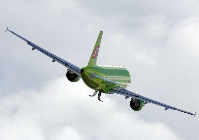 Avion de S7 Airlines