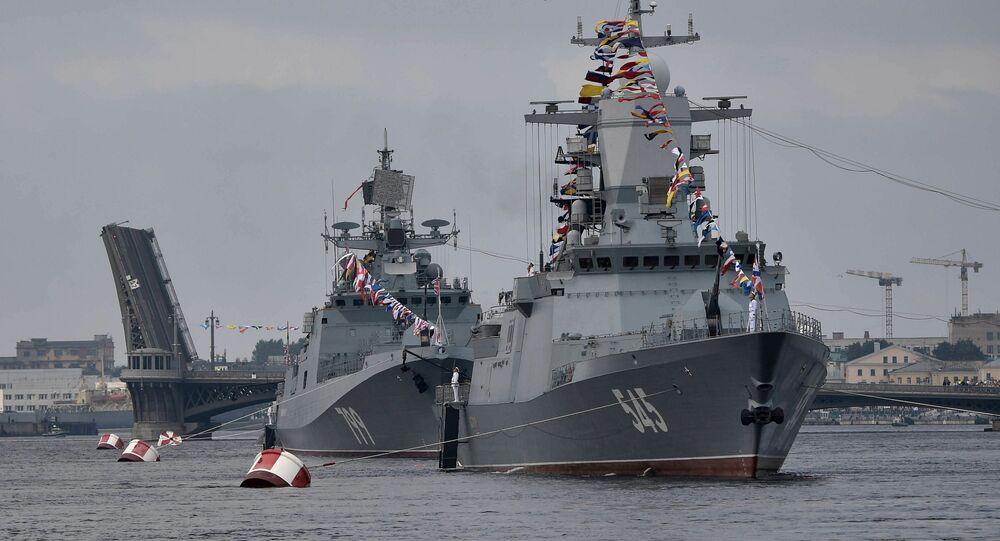 Défilé naval (image d'illustration)