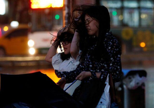 Plus de 100 blessés dans un violent typhon à Taïwan