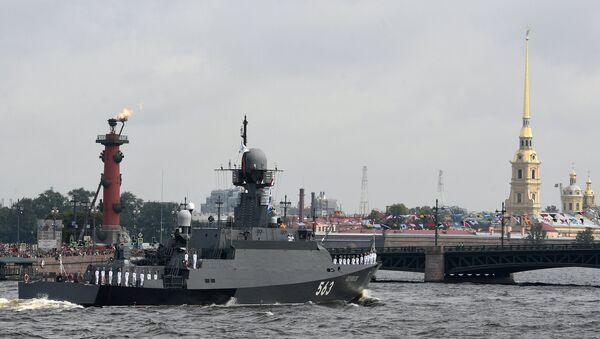 Parade navale à Saint-Pétersbourg - Sputnik France