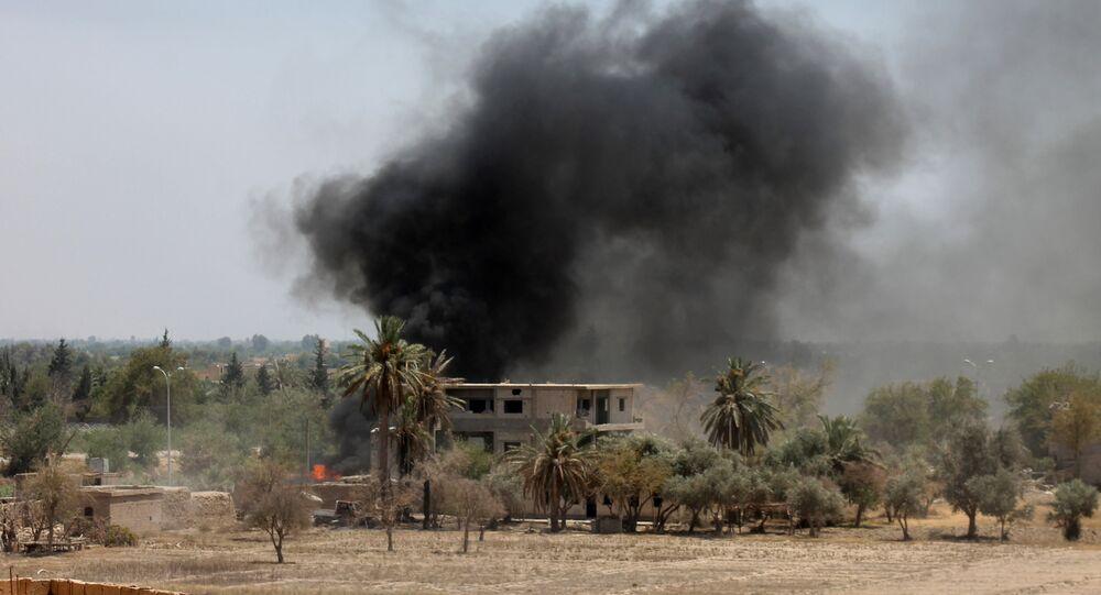 Situation à Deir ez-Zor. Archive photo