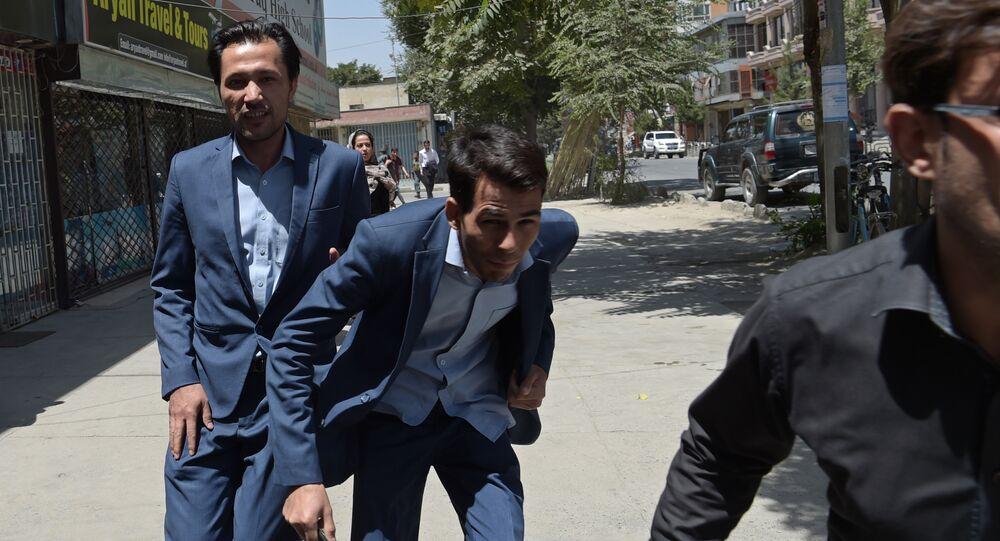 attentat suicide devant l'ambassade d'Irak à Kaboul