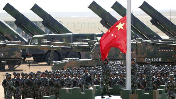 Artillerie et militaires chinois - Sputnik France
