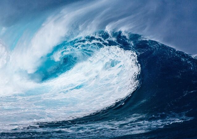 Une vague