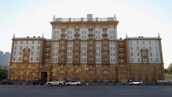 L'ambassade américaine à Moscou - Sputnik France