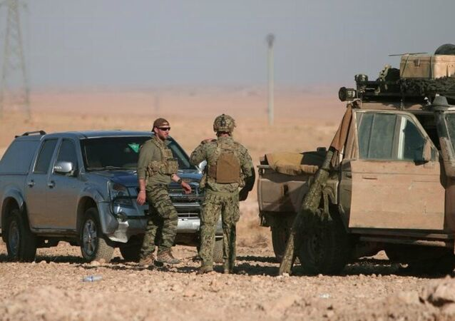 Des militaires américains non loin de Raqqa, image d'illustration