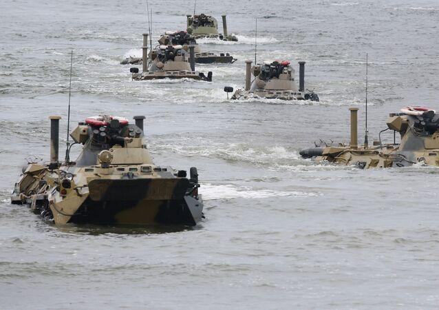blindés amphibies
