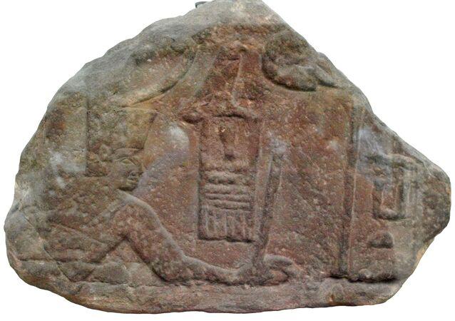 Sanakht frappant un ennemi (British Museum)
