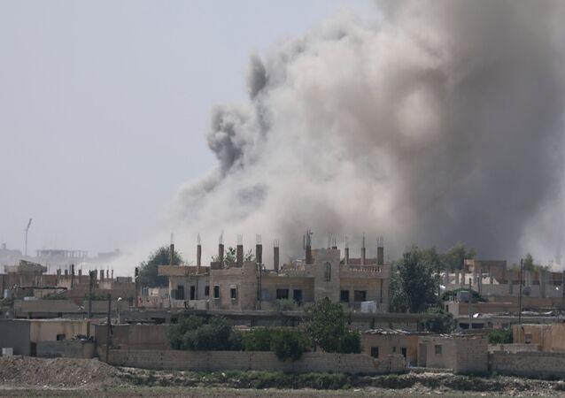 La province de Raqqa en feu