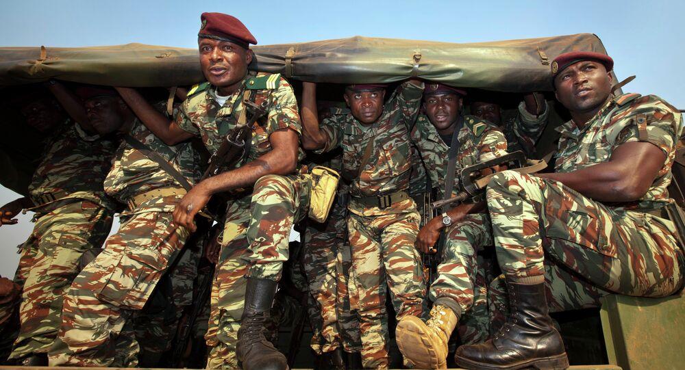 Militaires camerounais