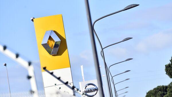 Le Logo de Renault - Sputnik France