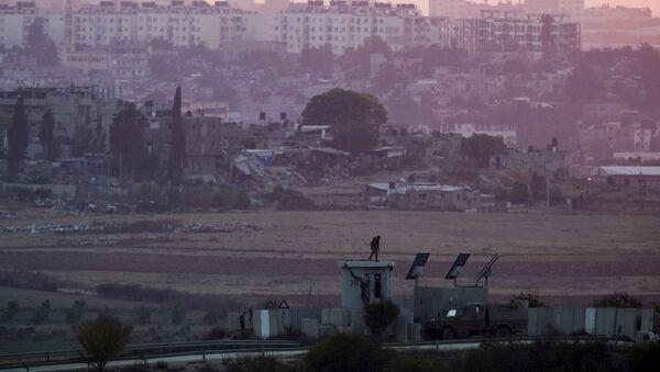 Frontière entre Israël et la bande de Gaza - Sputnik France