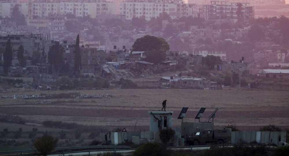 Frontière entre Israël et la bande de Gaza