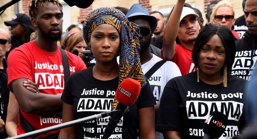 Marche pour Adama Traoré  à Paris