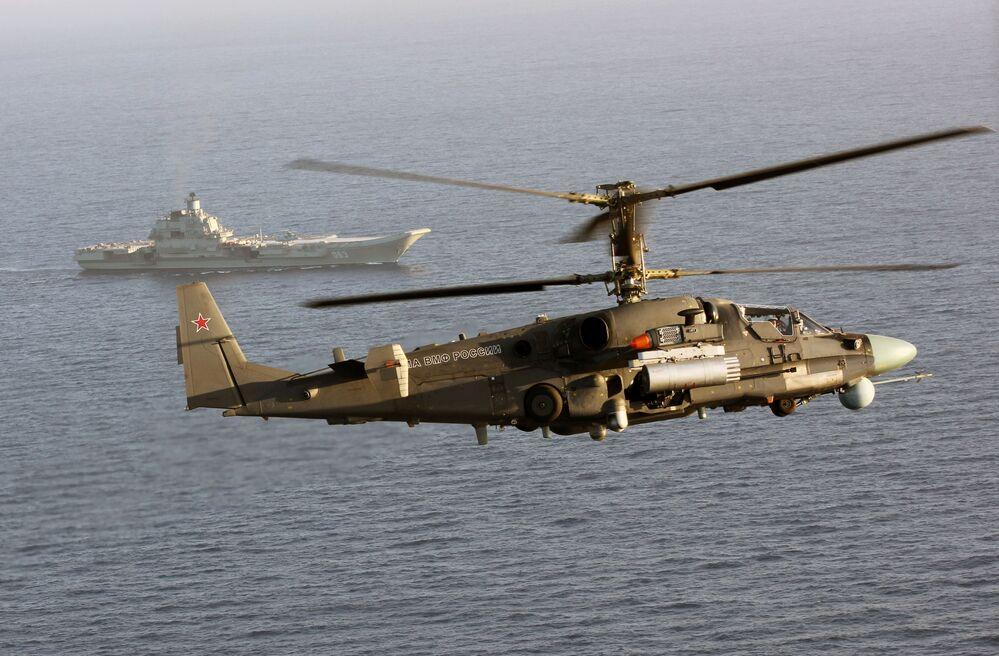 L'hélicoptère Ka-52K